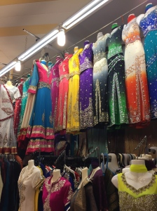 Little India was amazing.  I wanted a dress!